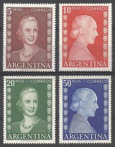 argentina 1952/3 ESTAMPILLAS National History Day, James Mcneill Whistler, Peggy Guggenheim, Santa Cecilia, Old Stamps, Argentine, Arte Popular, Stamp Collecting, Nature Pictures