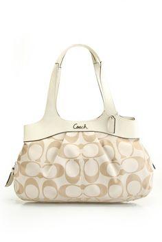 4c39d7fa6d1 Coach Signature Lexi Satchel In Light Khaki  amp  Ivory Satchel Bag,  Crossbody Bags,
