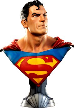 DC Comics Superman Life-Size Bust by Sideshow Collectibles | Sideshow Collectibles