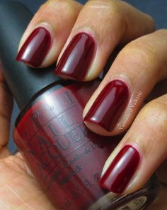 OPI Got the Blues For Red. My favorite.