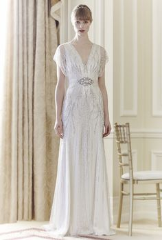Jenny Packham's Age of Elegance Inspired 2014 Bridal Collection