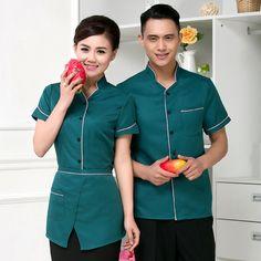 Mẫu quần áo cho nhân viên nhà hàng, đồng phục nhân viên dịch vụ nhà nghỉ, khách sạn cao cấp - May đồng phục khách sạn đẹp, giá rẻ tại Hà Nội