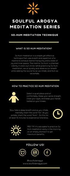 So Hum Meditation: An Easy Way to Happiness (Infographic)