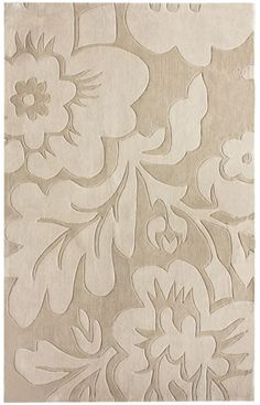 Rugs USA Keno Bold Floral Beige Rug-$85 with living social deal
