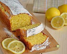 Plumcake al limone, ricetta dolci da colazione facili e veloci