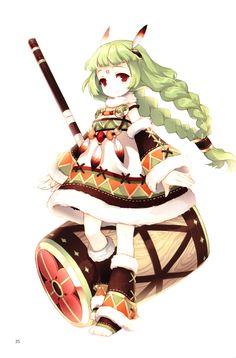 Anime, Scan, Tearfish, Fuyu no Mori Kawaii Chibi, Cute Chibi, Kawaii Anime, Chibi Characters, Cute Characters, Roald Dahl, Manga Drawing, Manga Art, Neko