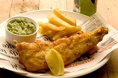 fish&chips and mushy peas