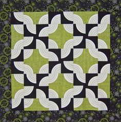 drunkards path quilt pattern | Drunkard's Path Done Up