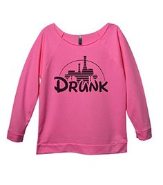 cd2c12221 Funny Disney Wine Drinking Shirts Drunk Royaltee Party Boutique Sweatshirts  XLarge Pink -- Amazon most trusted e-retailer #DisneyPartyIdeas