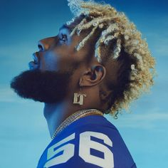 I don't know squat about football but I saw his hair this weekend and it's gorgeous. Had to pin it
