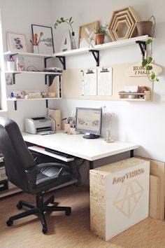 Work Space On Pinterest Work Spaces Home Office And