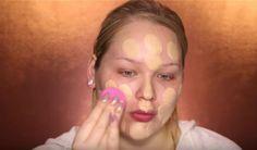 Step 1: Apply Foundation | Glamorous & Dramatic Holiday Makeup Tutorial