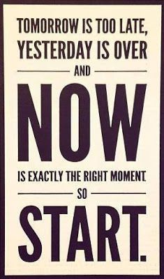 What have you been wanting to change or try??  How about starting today!