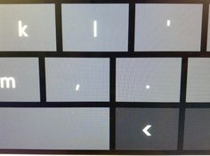 Onscreen keyboard comma and full stop via @FontPicker
