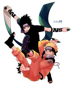 NTk9a4zlo38.jpg (679×800) Sasuke Uchiha and Naruto Uzumaki Sasunaru