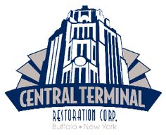 Terminal Jazz The Buffalo Central Terminal is an historic, iconic art deco style railroad station, built for the New York Centra lRailroad and activ Buffalo Central Terminal, National Landmarks, Buffalo New York, Art Deco Fashion, Jazz, Restoration, Concert, Destinations, Image