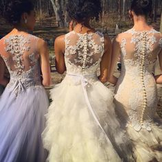 Veluz Reyes illusion back wedding gowns-only in the US through http://eabridal.com