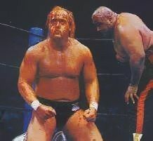 Hulk Hogan And Abdullah The Butcher Japan Professional Wrestling Pro Wrestling Hulk Hogan