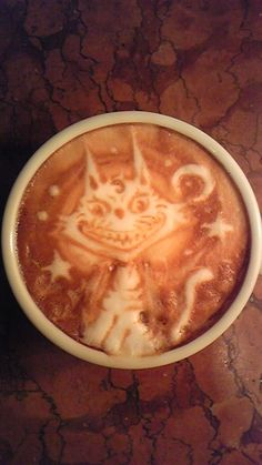 Laughing Cat Latte Art