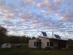 Another Modern Prefab House Beginning, At An Off Grid Prefab House Lifestyle Continuing.