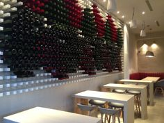 Wine wooden celar installation design by Stones and Walls