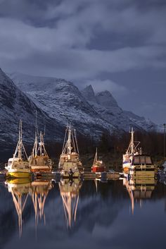 Night Boats, Norway.