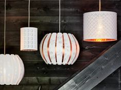 IKEA February 2015 Products - New IKEA Furniture - ELLE DECOR - these light shades are so great value for money and beautiful! Ikea Lighting, Lighting Ideas, Lighting Shades, Ikea 2015, Design Pas Cher, Ikea New, Teen Furniture, Furniture Design, Plywood Furniture