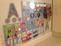 sensory board ideas for babies - Google Search                                                                                                                                                      More