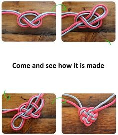 How to make Celtic heart knot necklace   Tips and More Ideas diy-and-crafts