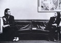 Nick Cave and P.J. Harvey