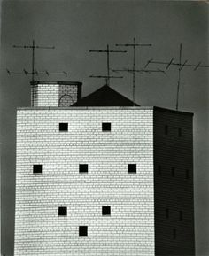Andre Kertesz, Water Tower, 1962