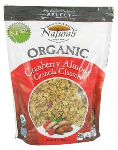 11% Off was $6.49, now is $5.79! New England Naturals - Organic Granola Select Cranberry Almond - 12 oz.
