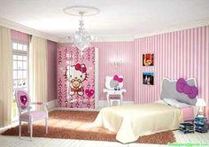 10 Gambar Set Kamar Anak Hello Kitty Terbaik Kamar Anak Tempat Tidur Set Kamar Tidur