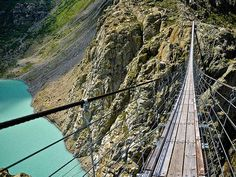 Hanging Bridge of Ghasa – Nepal. #BeTheBridge #Bridge