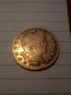 1909d barber quarter by DrewsCollectibles on Etsy, $7.00