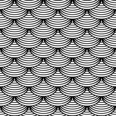 Downloaden - Naadloze geometrische patroon in