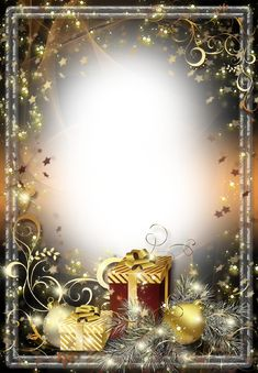 Christmas-Photo-Frame-Twinkling-Stars.png (889×1280)