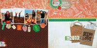 Page of the Month - May 2014 featuring Herbs & Honey by Basic Grey for Scrapbooks
