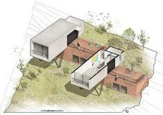 Los Miradores | Andrés Alonso Arquitecto   #AndrésAlonsoArquitecto #Argentina #brick #GonzaloViramonte #inhabitant #LosMiradores #Steel