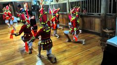 Dance festival of the Red Dao