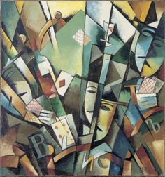 Jean Albert Pougny - Whist, 1915-1916