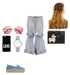 """Untitled #366"" by rockstarkaytie on Polyvore featuring Boohoo, Givenchy, H&M, Manebí, Kate Spade, CLUSE and WithChic"