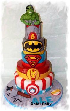 Mi ricordo quando poco più che bambina, entrando in un forno vedevo questa torta che io adoravo da morire...nella mia zona si chiama Torta del nonno....una delizia alle mandorle che vale davvero... 7th Birthday, Birthday Cake, Avenger Cake, Birthday Candles, Avengers, Desserts, Food, Cakes, Facebook