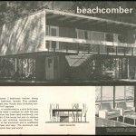 'Beachcomber mk II House' Lend Lease Homes 'an affordable version of the Villa Savoye' Modern Art Deco, Mid-century Modern, Modern Houses, Solid Brick, Steel Columns, Beach Shack, Le Corbusier, Googie, Mid Century House