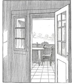 A Collection of Tessenow's Interiors Drawings – SOCKS Architecture People, Architecture Graphics, Facade Architecture, Biro Drawing, Texture Drawing, Walter Gropius, Drawing Interior, Interior Sketch, Hans Poelzig