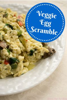 It is so important to start your day off right with a healthy breakfast. Try this veggie egg scramble for a healthy breakfast option loaded with protein and other important nutrients.
