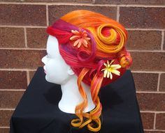 Matrix Mannequin Mania Competition. Avant Garde Hair. Bright Hair Bolor. UpStyle