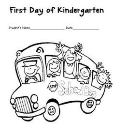 Little Minds at Work: First Day of Kindergarten {freebie}