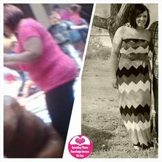 Melissa says - Started plexus at the end of Feb. Scale has went from 171 to 168-169 from that time. The first pic was taken around feb.. the pics in a dress was taken last week
