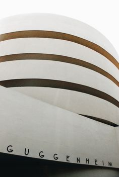 Solomon R. Guggenheim Museum in New York / photo by Sophia Cho